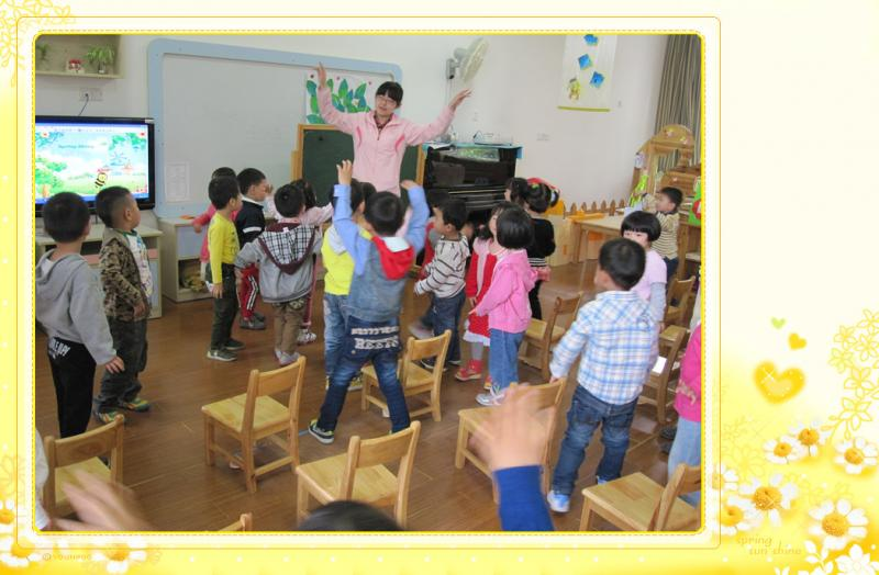 打击乐:蜜蜂做工 建邺区实验幼儿园西堤国际部——班